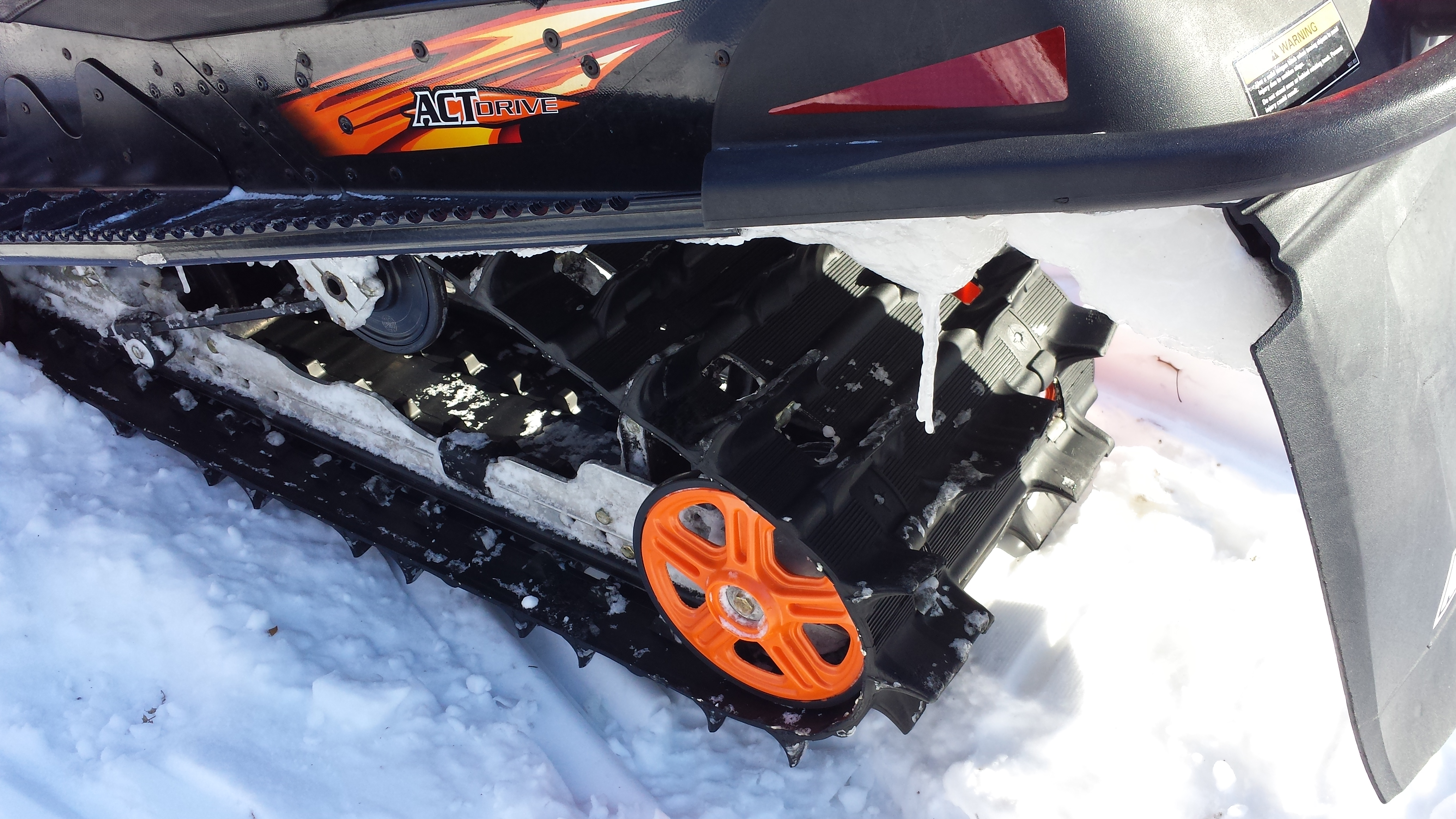Parts available from 2008 Arctic Cat Crossfire 800 Orange