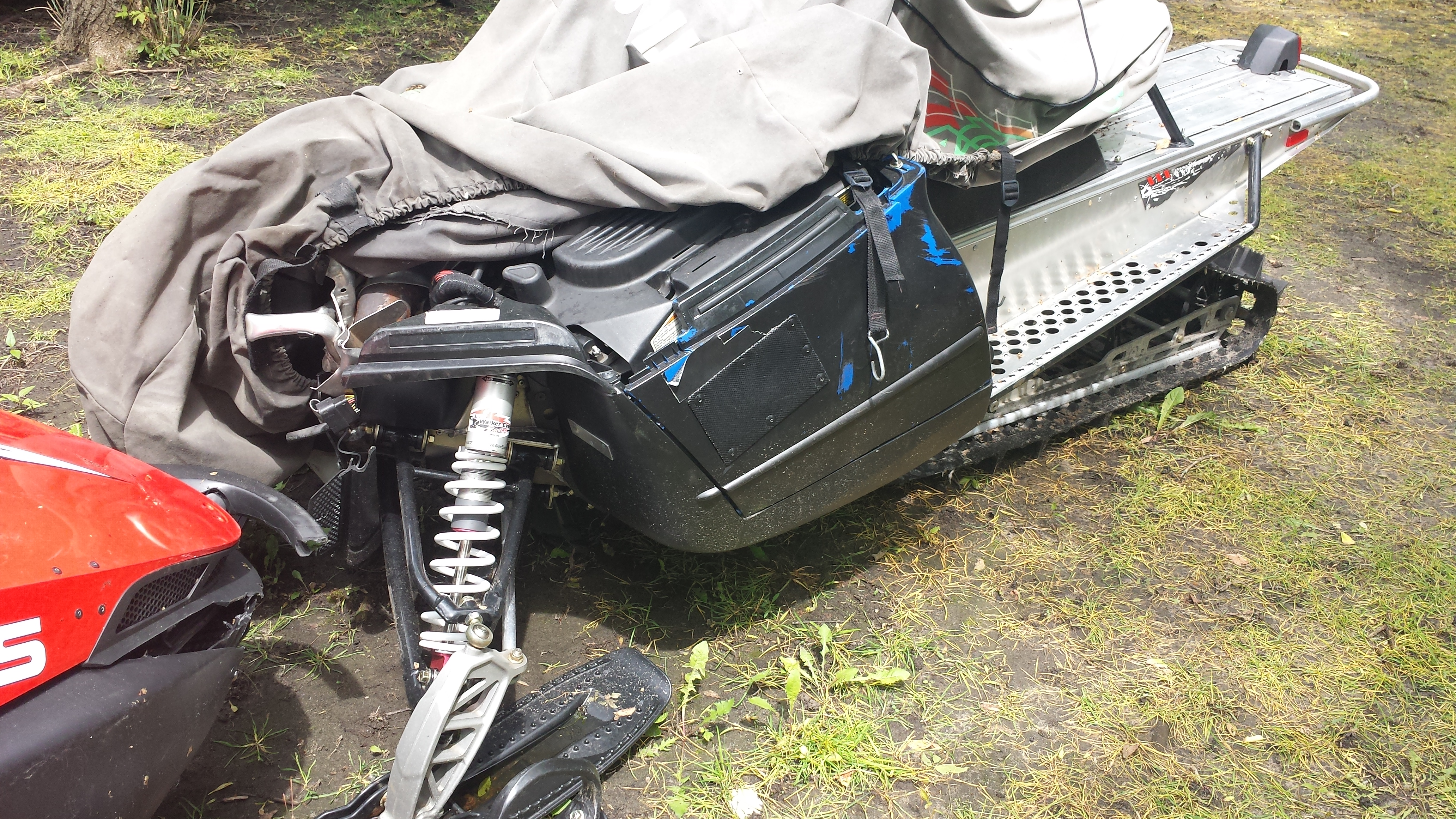Parts available from 2008 Polaris 800