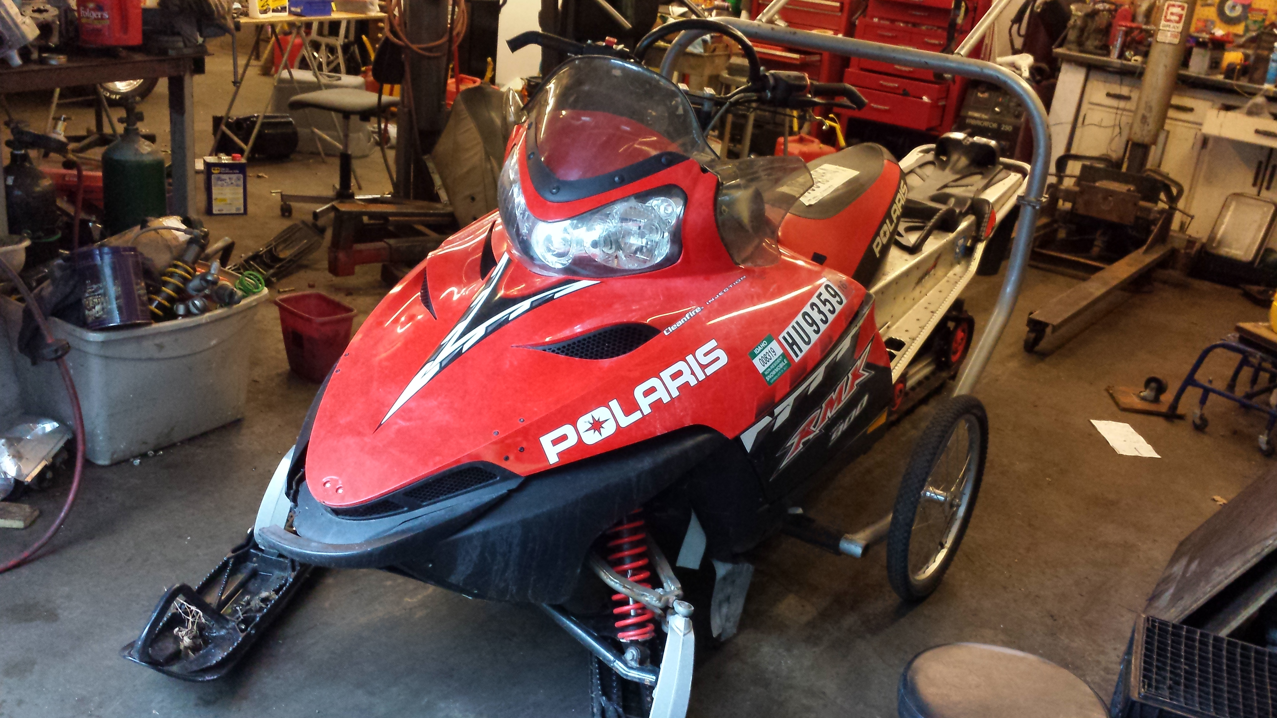 Parts available from 2006 Polaris 900 RMK 159""