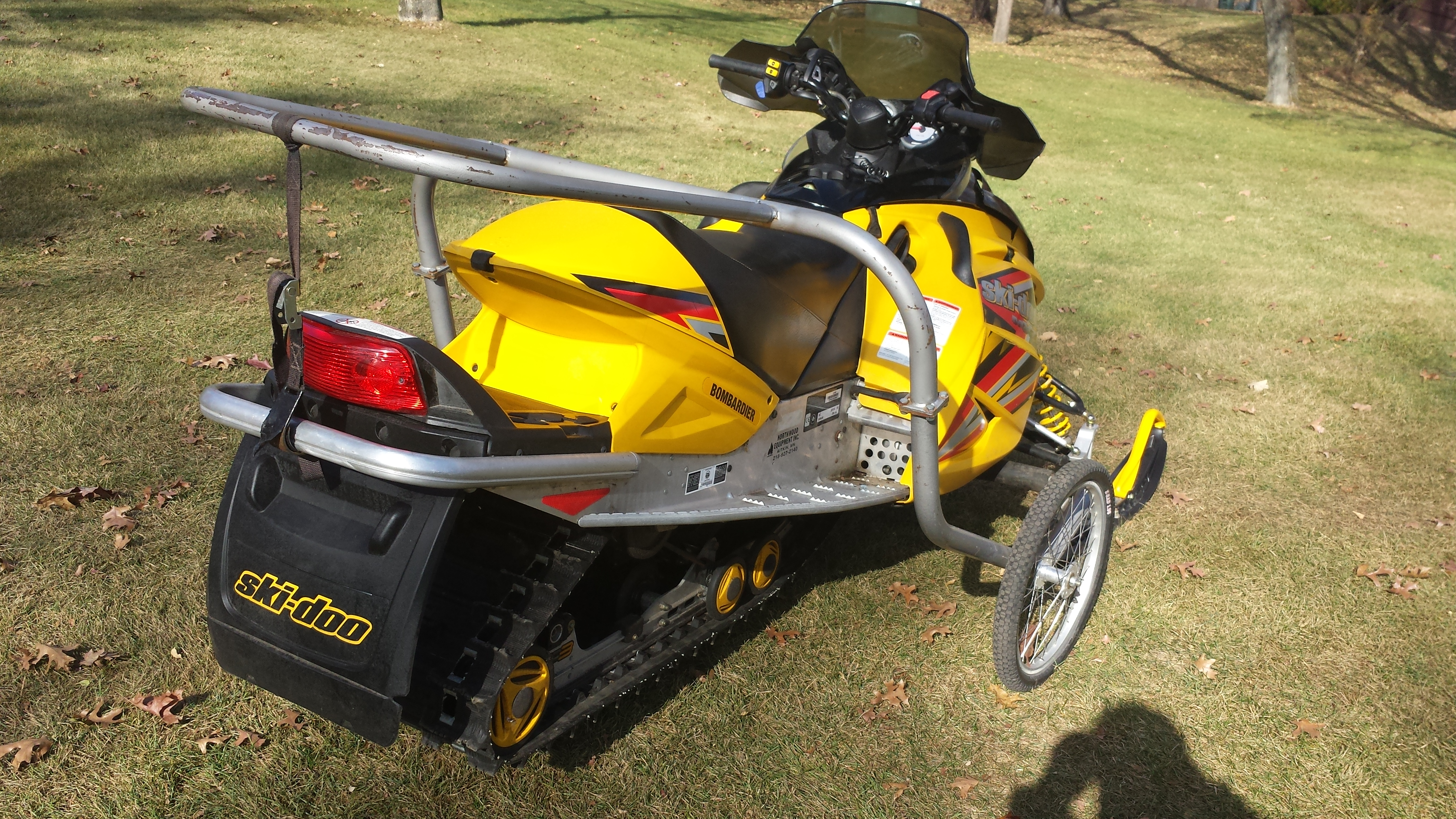 Parts available from 2005 Ski Doo MXZ 800 yellow