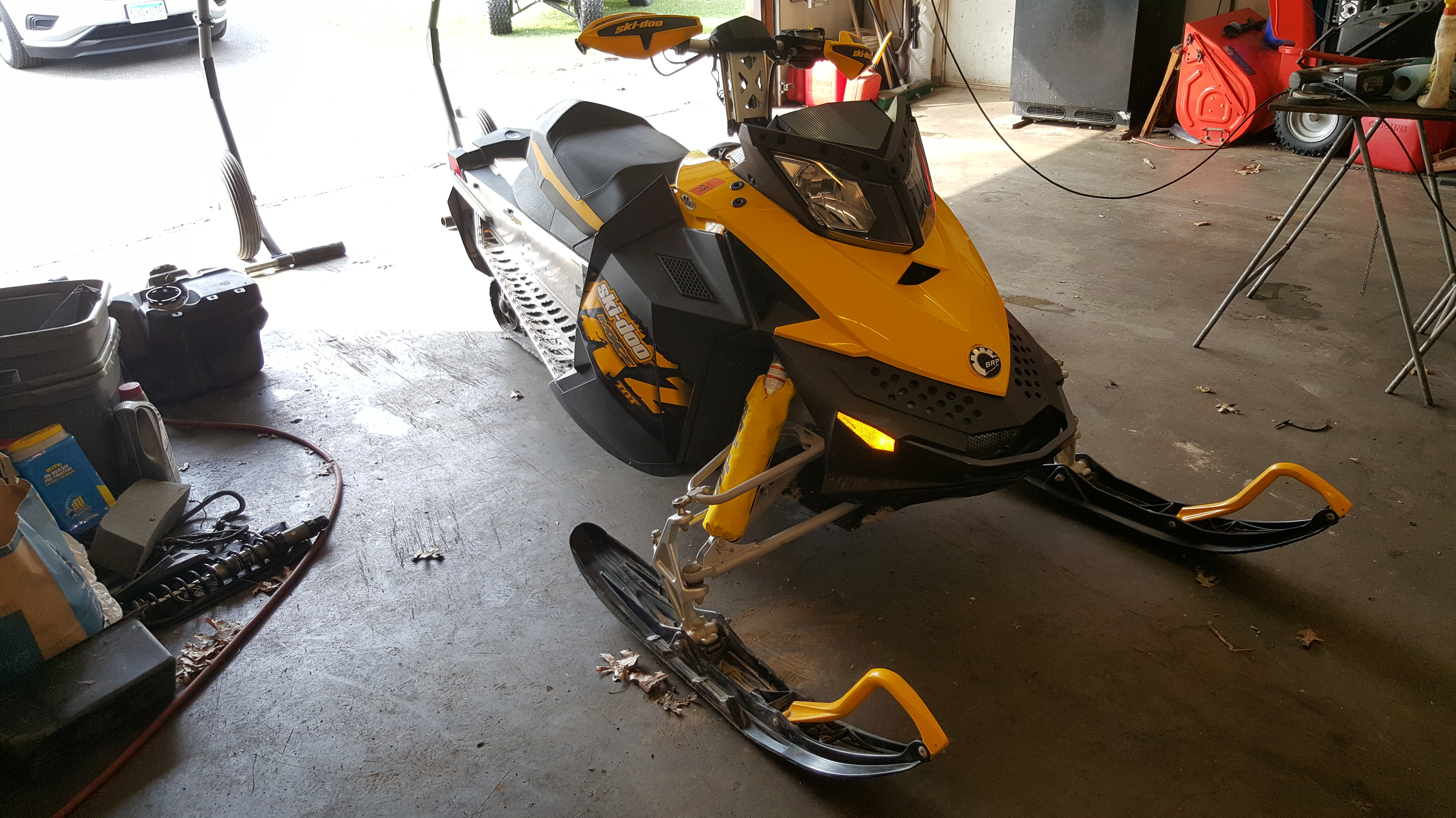Parts Available From 2009 Ski Doo MXZ 600 ETEC 120""