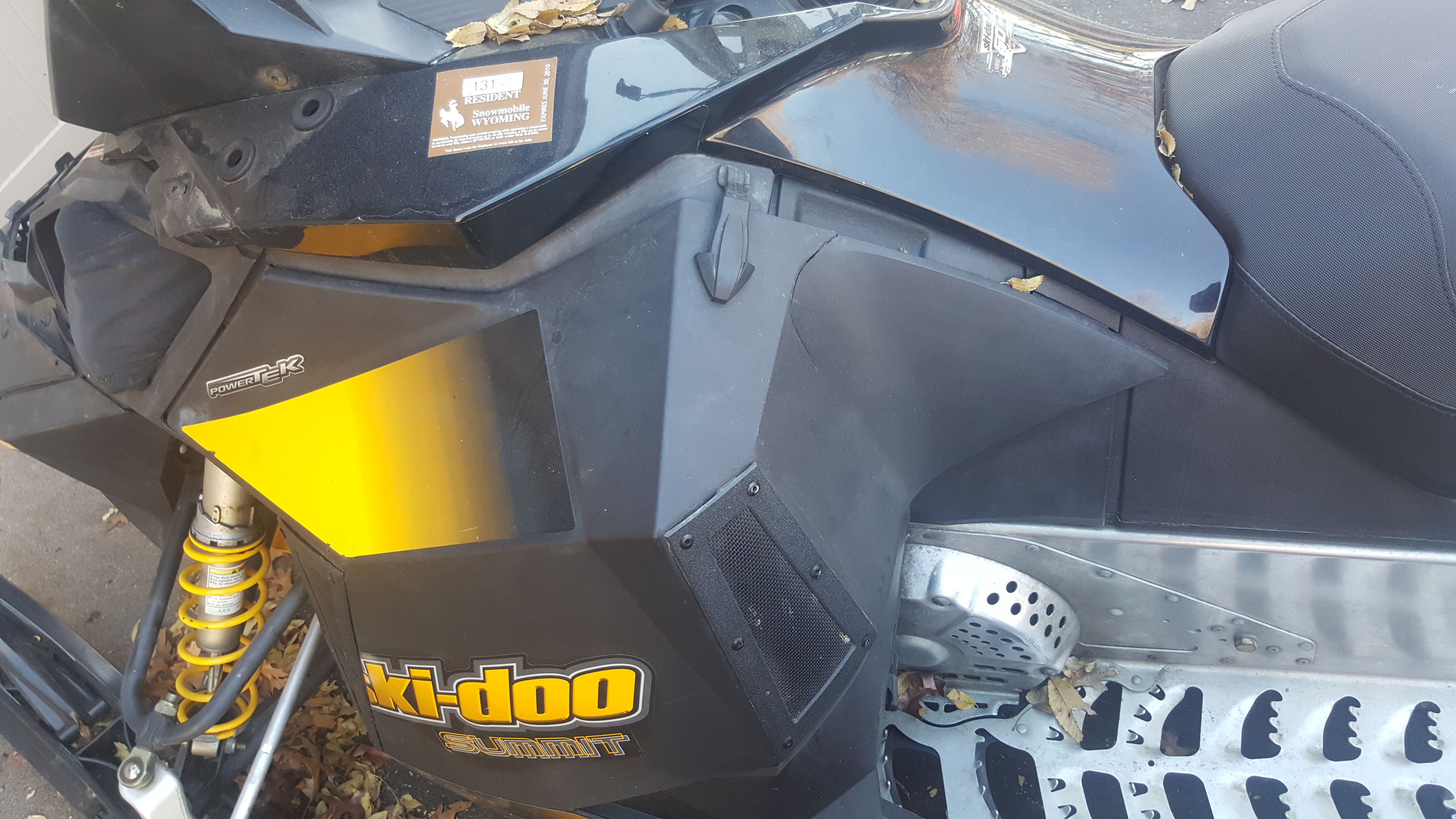 Parts Available from 2009 Sk Doo Renegade 600 etec