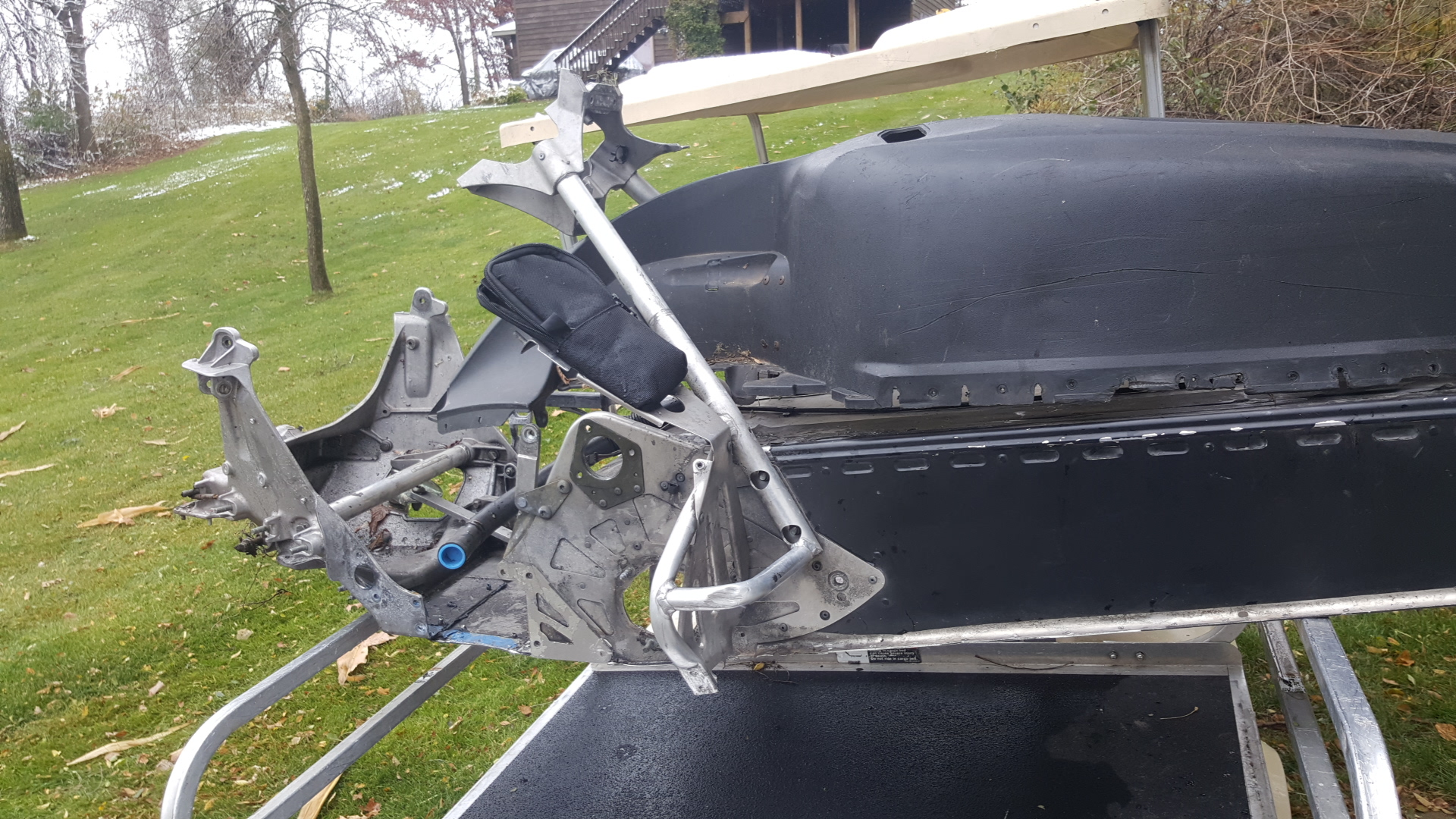 Parts available from 2012 Polaris RMK 800