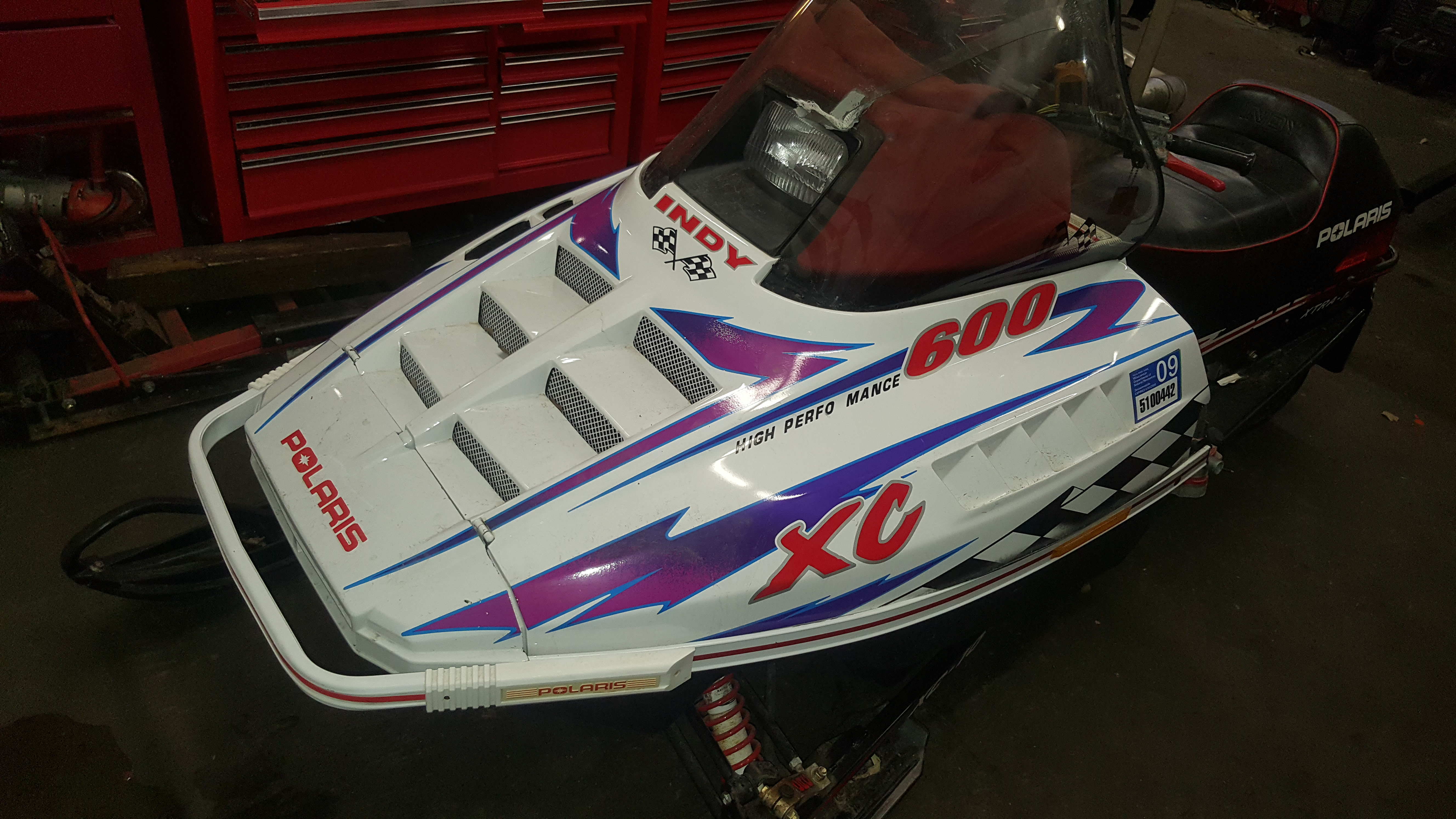 Parts available 1998 Polaris 600 XC