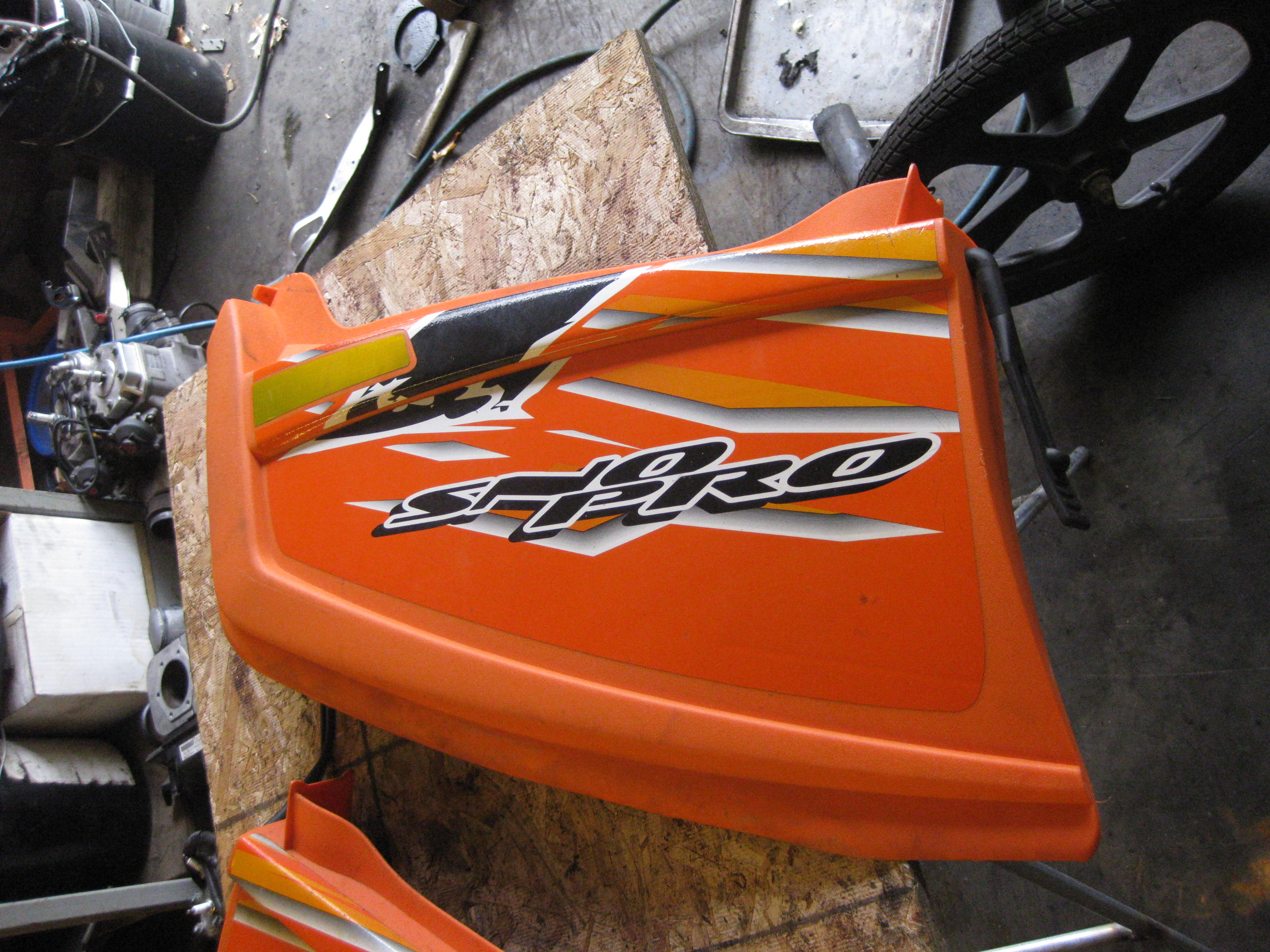 Parts available from 2007 Arctic Cat Crossfire 800 Orange