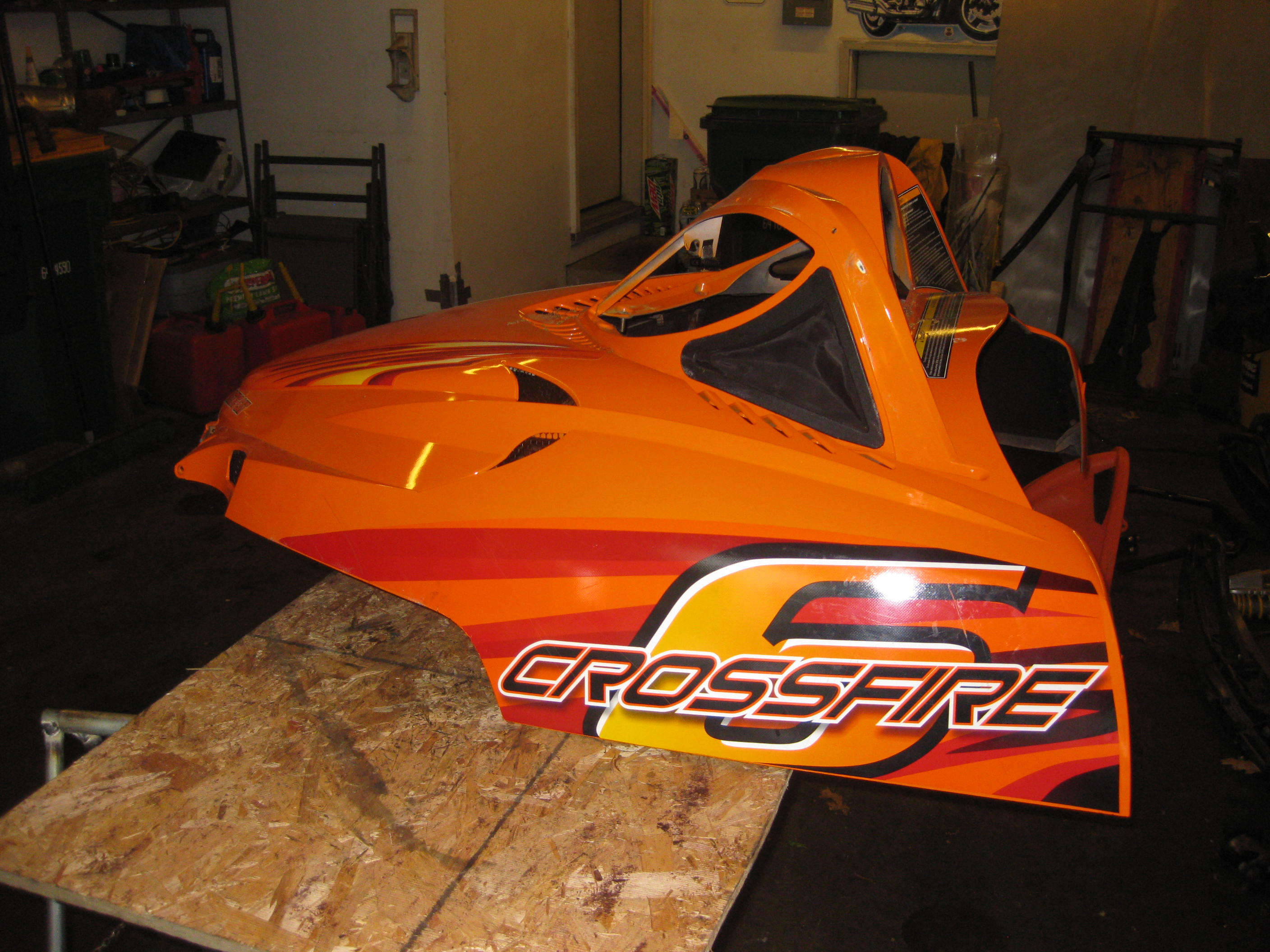 Parts available from 2006 Arctic Cat Crossfire 600 orange