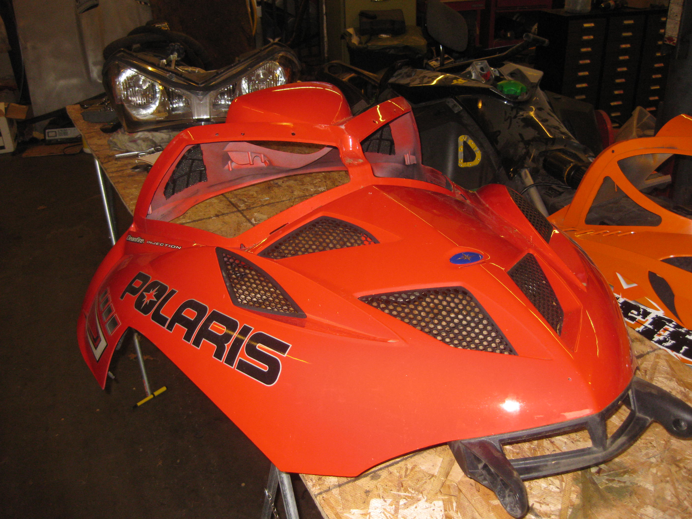 Parts available from 2005 Polaris Fusion 900