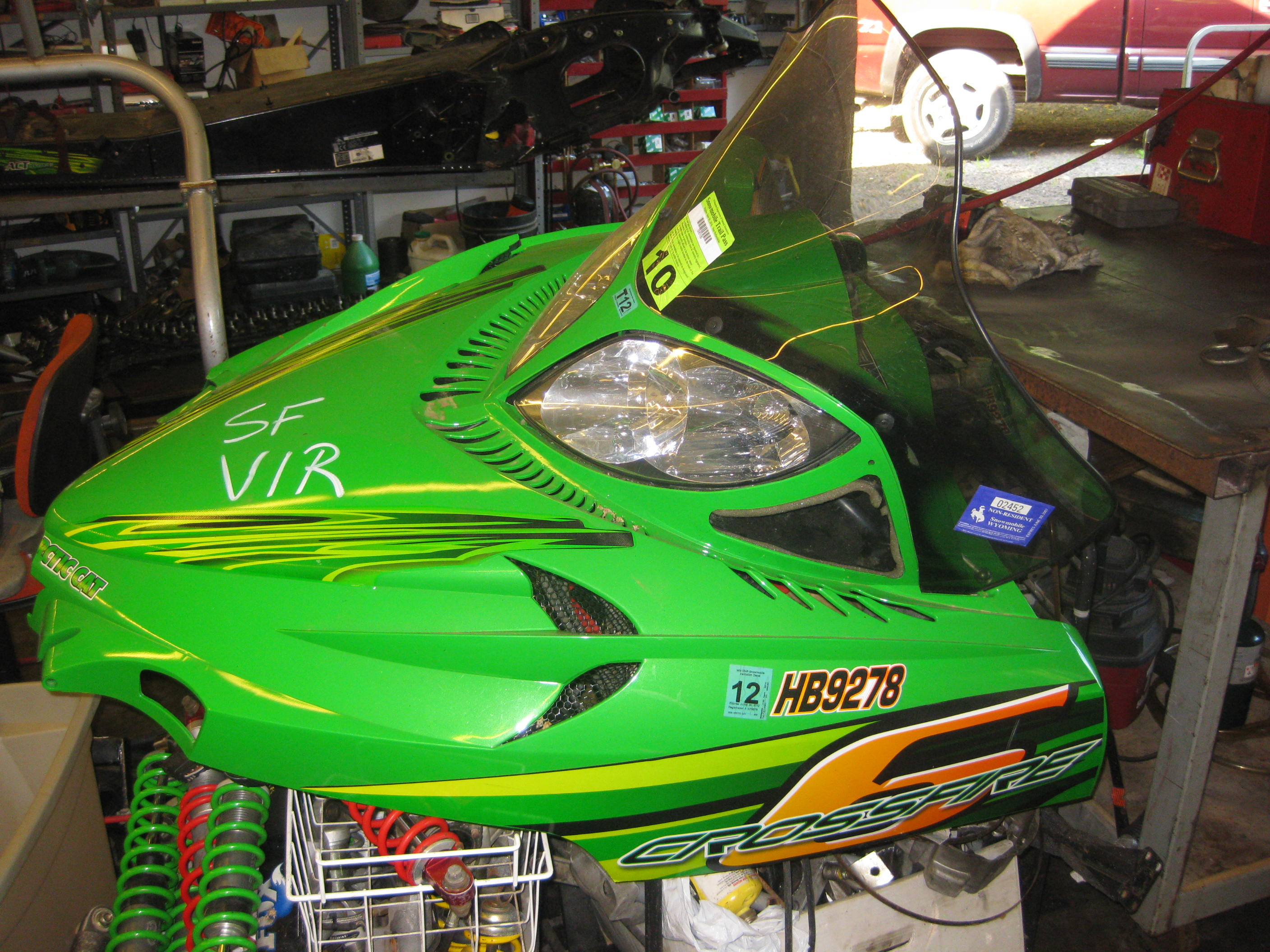 Parts available from 2006 Arctic Cat Crossfire 600