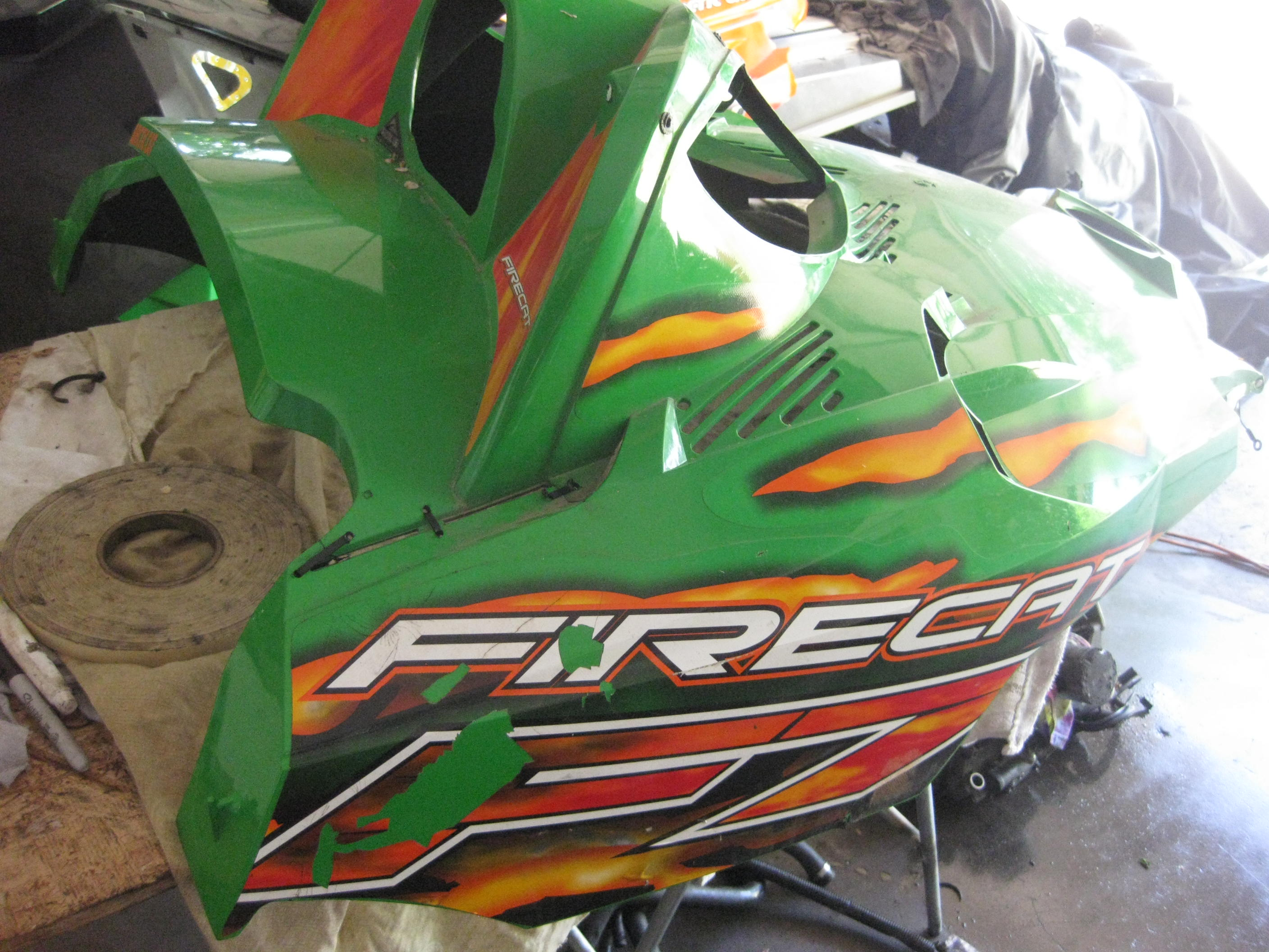 Parts available from 2005 Arctic Cat F7 Carb