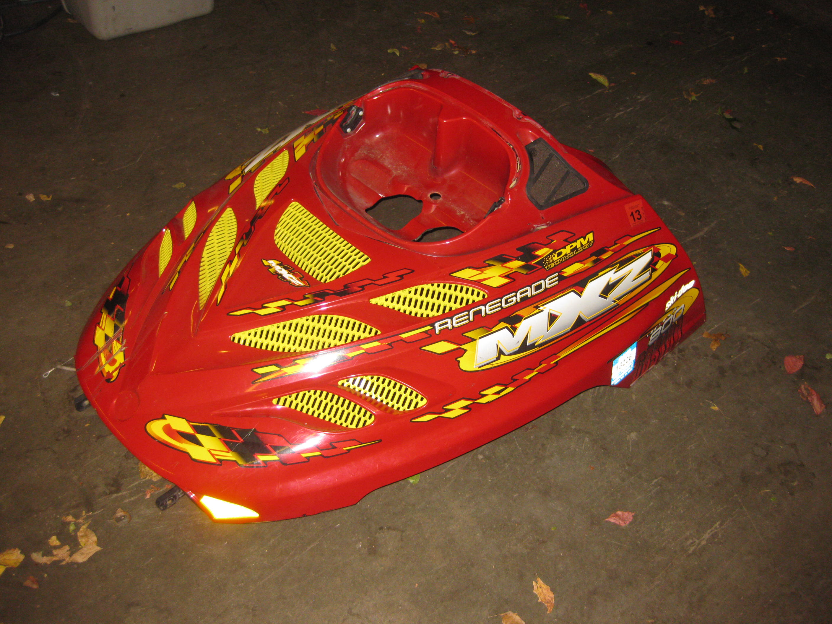 Parts available from 2002 Ski Doo 800 Renegade