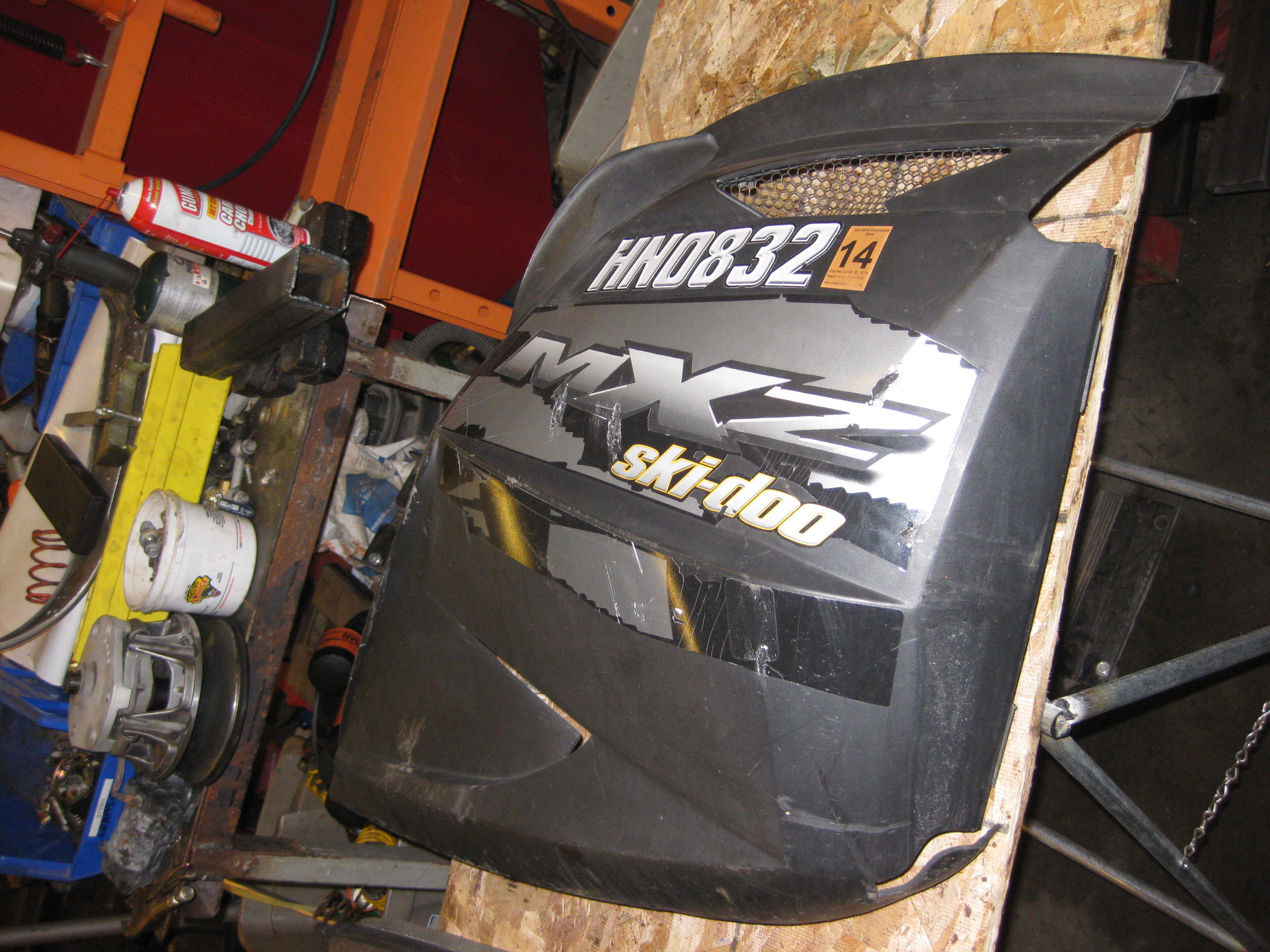 2003 to 2007 Ski Doo Rev