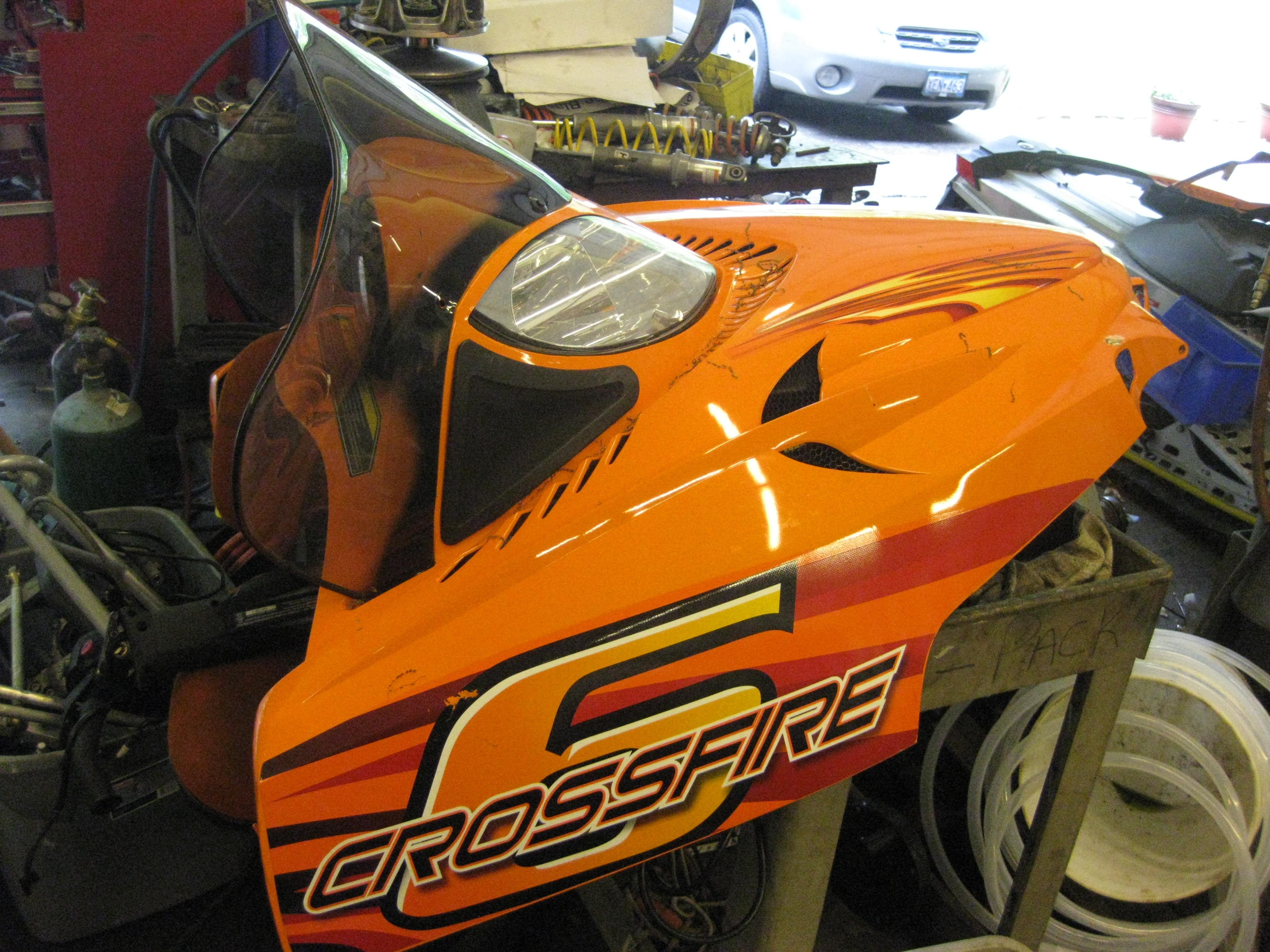 2006 up Arctic Cat Crossfire, M