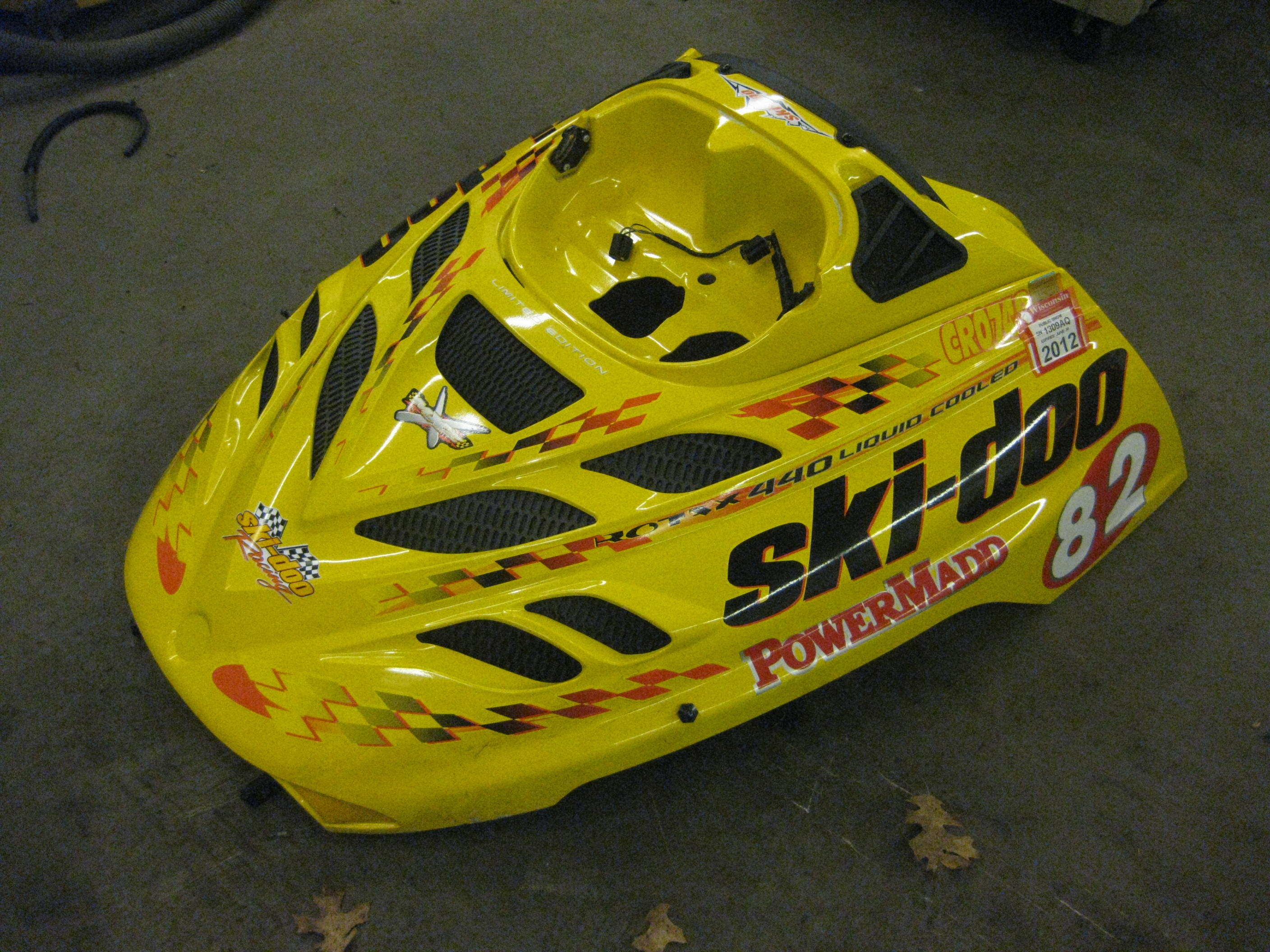 Parts available from 2001 Ski Doo MXZX 440
